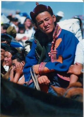 Cool Mongolian man