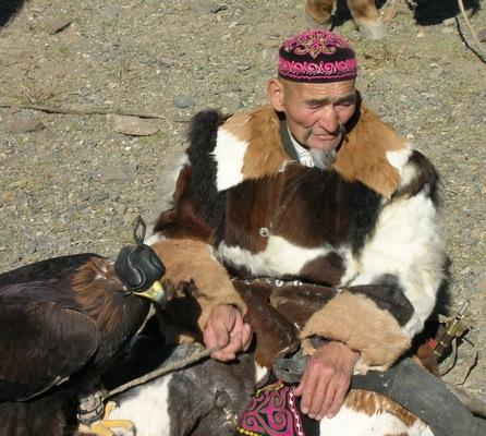 Mongolian Kazakh hunter