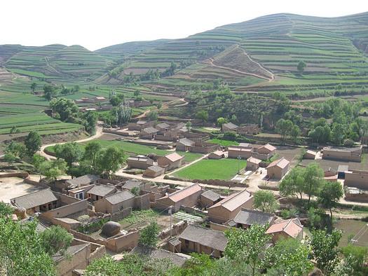 Ningxia China village