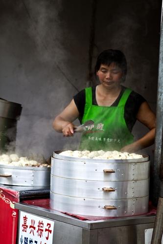 Chinese dumpling shop