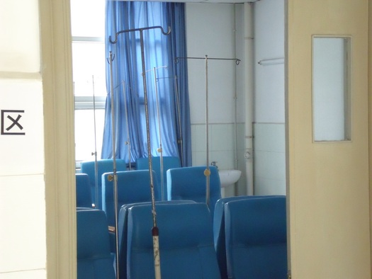 Chinese intravenous room