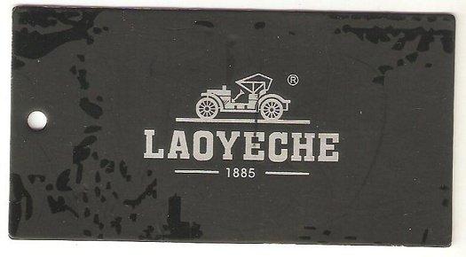 Old Grandpa Car label