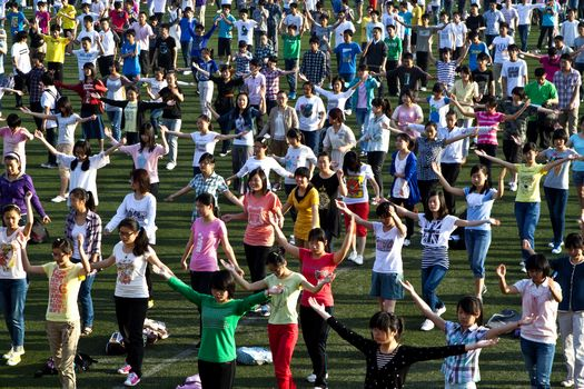 Chinese morning exercise