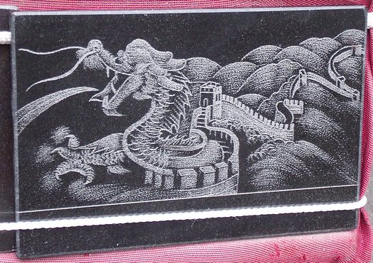 Great Wall Chinese dragon