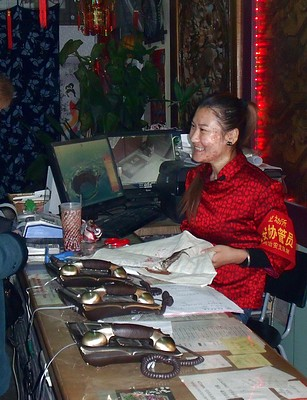 Hutong reception desk