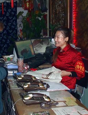 Hutong reception desk