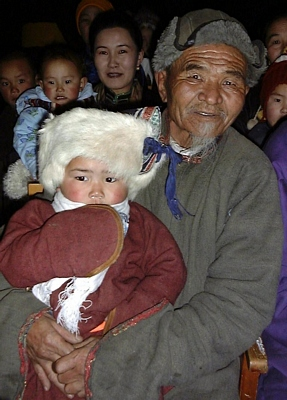 Mongolian deels and hats