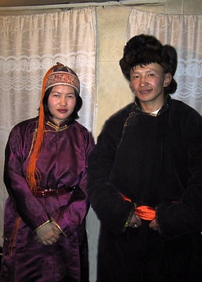 Traditional Mongolian Wedding