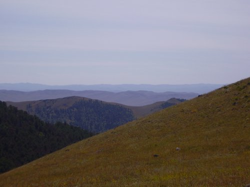 Mountains in Mongolia