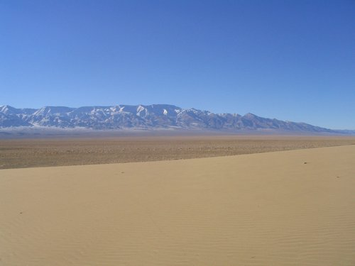 Edge of Gobi Desert