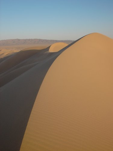 Gobi Desert sand dune
