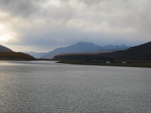 Mongolian mountain lake