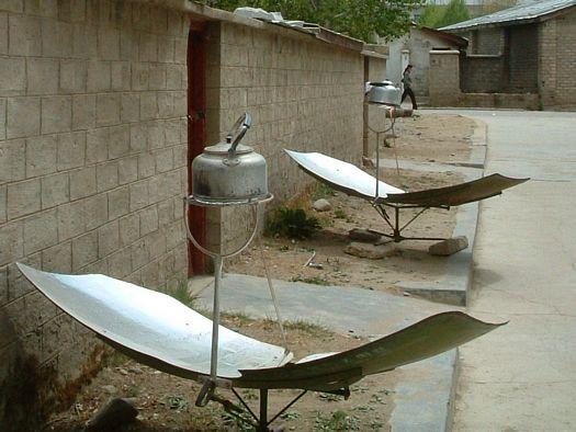 Tibet solar cooking