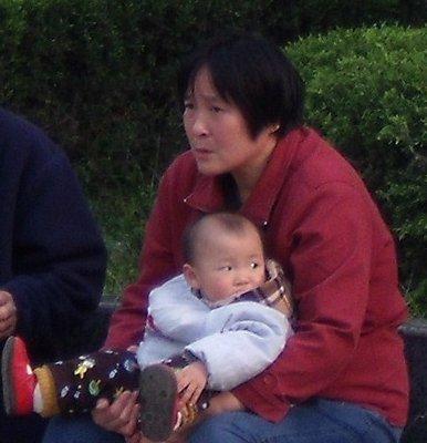 China baby pee