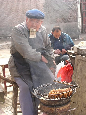 Chinese street food chef