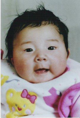 Chinese orphanage baby