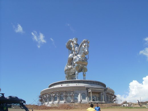 Genghis Khan on horse