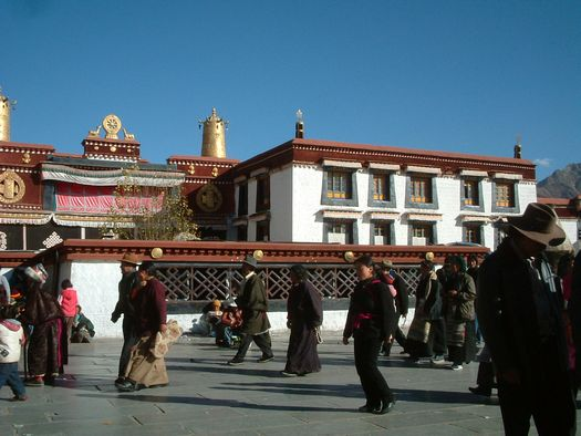 Jokhang Temple, heart of Tibetan Buddhism