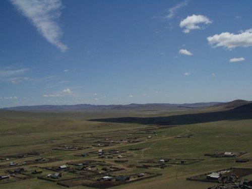 Bayandun, Dornod. Mongolian countryside