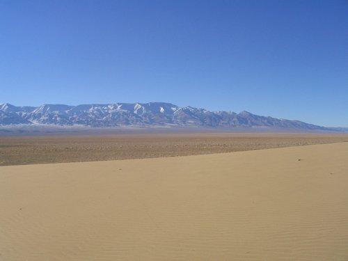 Edge of Gobi Desert